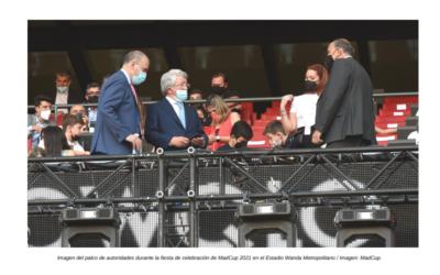 La MADCUP brilla en el Wanda Metropolitano